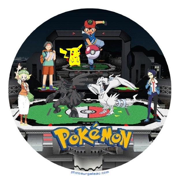 Decor Pokemon Pour Gateau