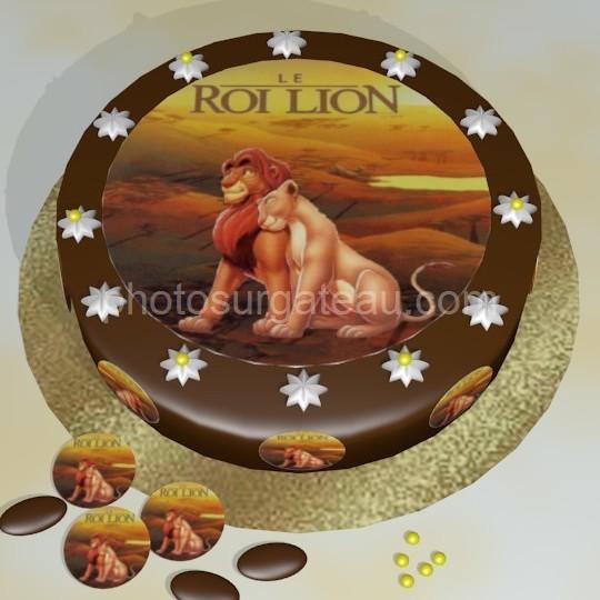 Decor Pour Gateau Roi Lion