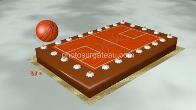Terrain de basket ball